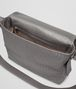 BOTTEGA VENETA MESSENGER UMHÄNGETASCHE AUS LEICHTEM KALBSLEDER INTRECCIATO NEW LIGHT GREY Messenger Tasche U dp