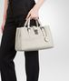 BOTTEGA VENETA Mist Intrecciato Light Calf Roma Bag Top Handle Bag D ap
