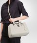 BOTTEGA VENETA MIST Intrecciato Light Calf ROMA BAG Top Handle Bag D lp