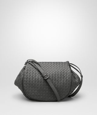 SAC MESSENGER EN INTRECCIATO NAPPA NEW LIGHT GREY
