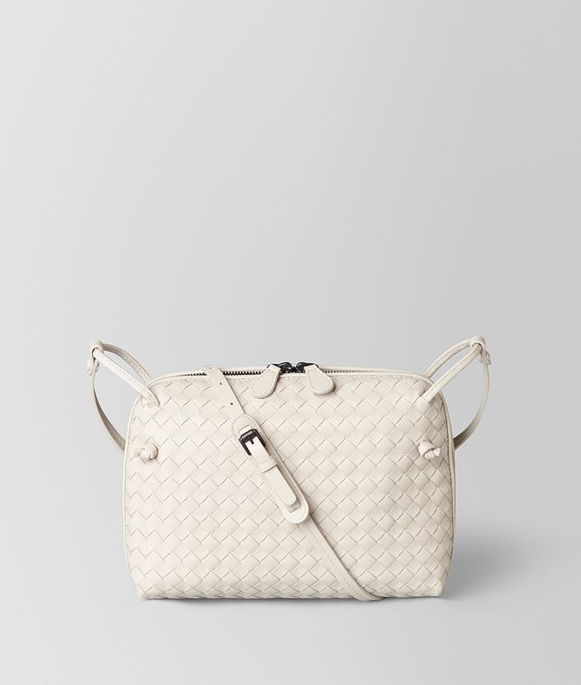 BOTTEGA VENETA SAC NODINI EN CUIR NAPPA INTRECCIATO MIST Crossbody bag [*** pickupInStoreShipping_info ***] fp