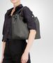 BOTTEGA VENETA BORSA A SPALLA MEDIA IN INTRECCIATO NAPPA NEW LIGHT GREY Borsa a spalla D ap