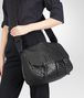 BOTTEGA VENETA GARDENA BAG IN NERO INTRECCIATO NAPPA Crossbody bag D ap
