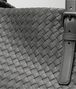 BOTTEGA VENETA GROSSE CESTA BAG AUS INTRECCIATO NAPPA IN LIGHT GREY Shopper D ep