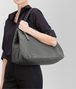 BOTTEGA VENETA LIGHT GRAY INTRECCIATO NAPPA LARGE TOTE Tote Bag D lp