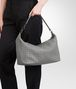 BOTTEGA VENETA TASCHE AUS NAPPALEDER INTRECCIATO NEW LIGHT GREY Schultertasche D lp