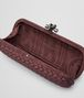 BOTTEGA VENETA STRETCH KNOT CLUTCH AUS INTRECCIO FAILLE MOIRE IN ELECTRIQUE Clutch D dp