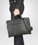 BOTTEGA VENETA AKTENTASCHE AUS INTRECCIATO KALBSLEDER IN NEW LIGHT GREY Business Tasche U ap