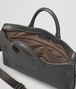 BOTTEGA VENETA AKTENTASCHE AUS INTRECCIATO KALBSLEDER IN NEW LIGHT GREY Business Tasche U dp