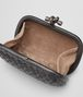 BOTTEGA VENETA NERO METAL INTRECCIO PLACCATO KNOT Clutch D dp