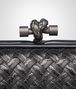 BOTTEGA VENETA NERO METAL INTRECCIO PLACCATO KNOT Clutch D ep