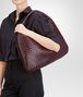 BOTTEGA VENETA Aubergine Intrecciato Nappa Large Veneta Shoulder or hobo bag D ap