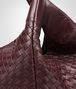 BOTTEGA VENETA AUBERGINE INTRECCIATO NAPPA CAMPANA BAG Shoulder or hobo bag D ep