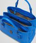 BOTTEGA VENETA Signal Blue Intrecciato Light Calf Roma Bag Top Handle Bag D dp