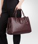 BOTTEGA VENETA BORSA ROMA AUBERGINE IN LIGHT CALF INTRECCIATO Borsa a Mano D ap