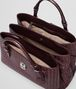 BOTTEGA VENETA BORSA ROMA AUBERGINE IN LIGHT CALF INTRECCIATO Borsa a Mano D dp
