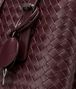 BOTTEGA VENETA Aubergine Intrecciato Light Calf Roma Bag Top Handle Bag D ep