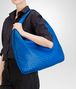 BOTTEGA VENETA SIGNAL BLUE INTRECCIATO NAPPA Maxi Veneta Shoulder or hobo bag D ap