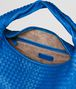BOTTEGA VENETA SIGNAL BLUE INTRECCIATO NAPPA Maxi Veneta Shoulder or hobo bag D dp