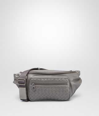 New Light Grey Light Calf Belt Bag