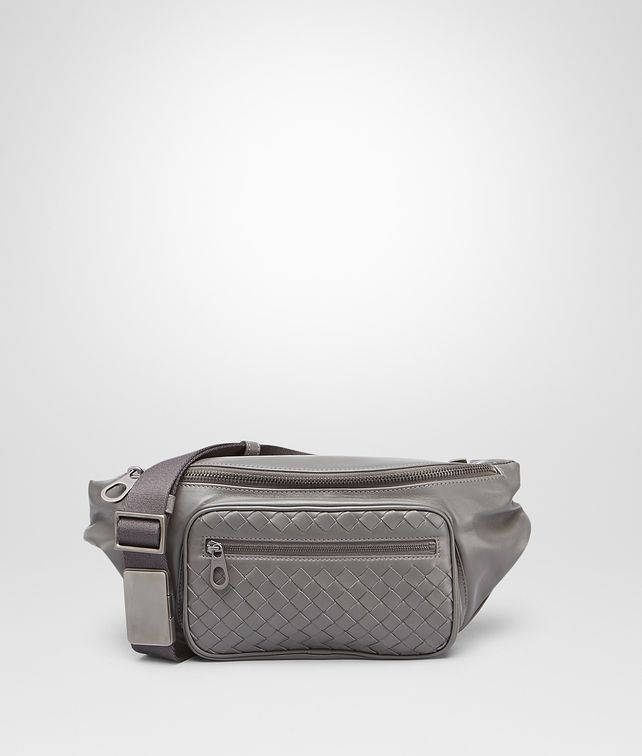 BOTTEGA VENETA New Light Grey Light Calf Belt Bag Small bag U fp