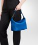BOTTEGA VENETA Signal Blue Intrecciato Nappa Bag Shoulder or hobo bag D ap