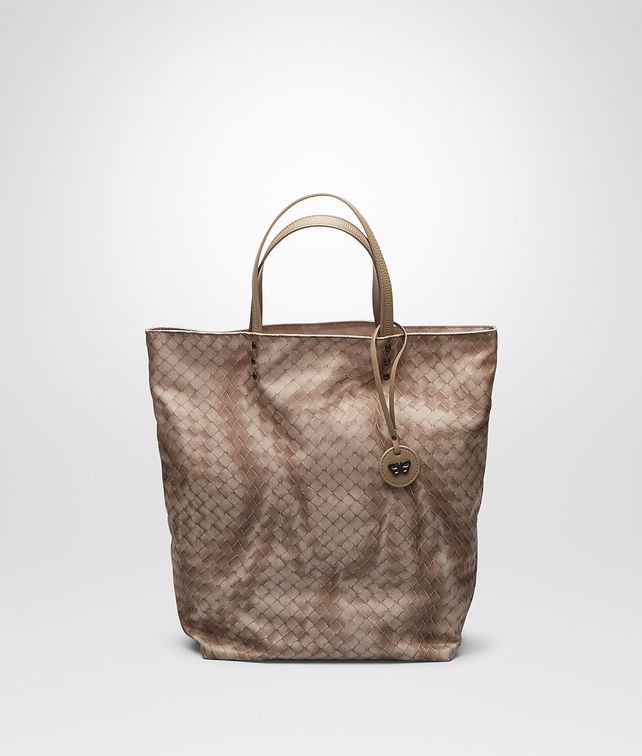 BOTTEGA VENETA SHOPPER MIT INTRECCIOLUSION SAND Shopper D fp