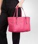 BOTTEGA VENETA SHOPPER ROSA SHOCK IN NAPPA INTRECCIATA Borsa Shopping D ap