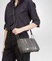 BOTTEGA VENETA MESSENGER BAG IN NEW LIGHT GREY NAPPA AND AYERS Crossbody bag D ap