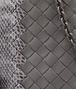 BOTTEGA VENETA MESSENGER BAG IN NEW LIGHT GREY NAPPA AND AYERS Crossbody bag D ep