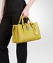 BOTTEGA VENETA BORSA ROMA NEW CHARTREUSE IN LIGHT CALF INTRECCIATO Borsa a Mano D ap