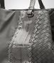 BOTTEGA VENETA MEDIUM TOTE BAG IN NEW LIGHT GREY NAPPA AND AYERS Tote Bag D ep