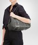 BOTTEGA VENETA MITTLERE TOTE BAG AUS NAPPA UND AYERS IN NEW LIGHT GREY Shopper Damen lp