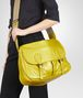 BOTTEGA VENETA NEW CHARTREUSE CERVO METAL GARDENA BAG Crossbody bag D ap