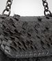 BOTTEGA VENETA Ardoise Intreccio Tobu Olimpia Bag Shoulder or hobo bag D ep