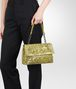 BOTTEGA VENETA New Chartreuse Intreccio Tobu Ayers Olimpia Bag Shoulder or hobo bag D lp