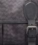 BOTTEGA VENETA New Dark Grey Intrecciolusion Gardena Bag Messenger Bag U ep