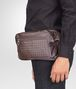 BOTTEGA VENETA BELT BAG IN MORO INTRECCIATO CALF Backpack Man ap