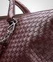 BOTTEGA VENETA Aubergine Intrecciato Nappa Convertible Bag Top Handle Bag D ep