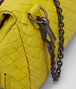 BOTTEGA VENETA NEW CHARTREUSE INTRECCIATO NAPPA MESSENGER BAG Crossbody bag D ep