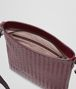 BOTTEGA VENETA Aubergine Nero Intrecciato Vn Cross Body Messenger Messenger Bag U dp