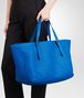 BOTTEGA VENETA SHOPPER AUS NAPPALEDER INTRECCIATO SIGNAL BLUE Shopper D ap