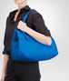 BOTTEGA VENETA SHOPPER SIGNAL BLUE IN NAPPA INTRECCIATA Borsa Shopping D lp