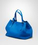 BOTTEGA VENETA SHOPPER SIGNAL BLUE IN NAPPA INTRECCIATA Borsa Shopping D rp