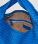 BOTTEGA VENETA SIGNAL BLUE INTRECCIATO NAPPA Large Veneta Shoulder or hobo bag D dp