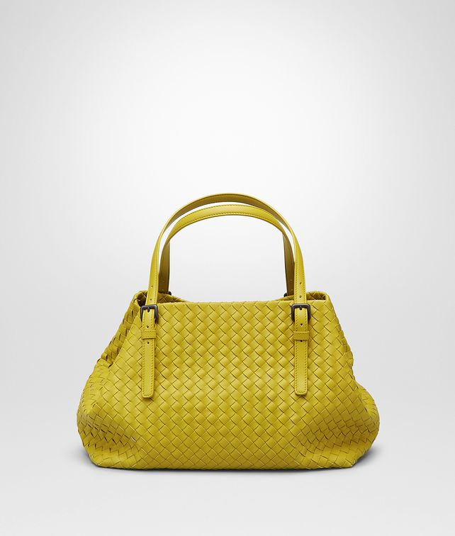BOTTEGA VENETA SHOPPER AUS NAPPALEDER INTRECCIATO NEW CHARTREUSE Shopper D fp
