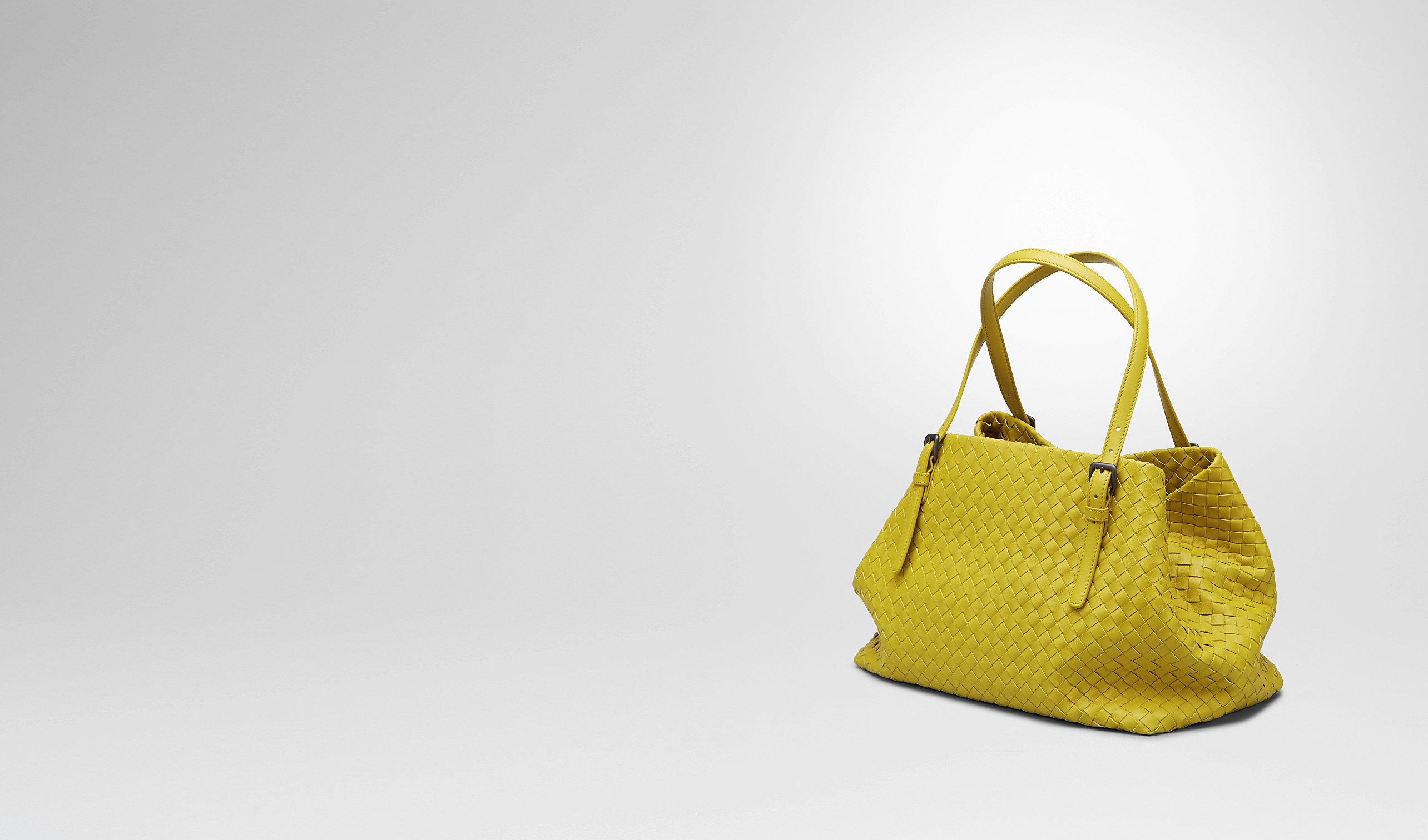 BOTTEGA VENETA Tote Bag D New Chartreuse Intrecciato Nappa Tote Bag pl