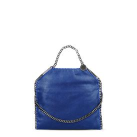 STELLA McCARTNEY Tote bag D Falabella Fold Over Tote Cherry in Shaggy Deer f