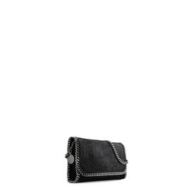 Black Falabella Shaggy Deer Clutch