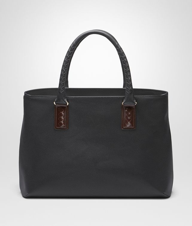 BOTTEGA VENETA TOTE BAG IN NERO MARCOPOLO Tote Bag E fp